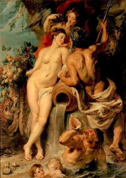 Rubens, Peter Paul: Union of Earth and Water. Fine Art Print/Poster. Sizes: A1/A2/A3/A4 (00553)